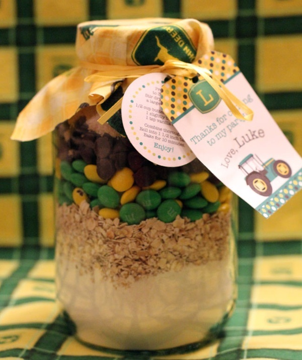 John Deere Cookies! - What a great idea!! crafts-party-ideas could use all green m&m's for a 4-H party/gift/fundraiser