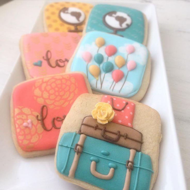 Vintage travel cookies // Arty McGoo