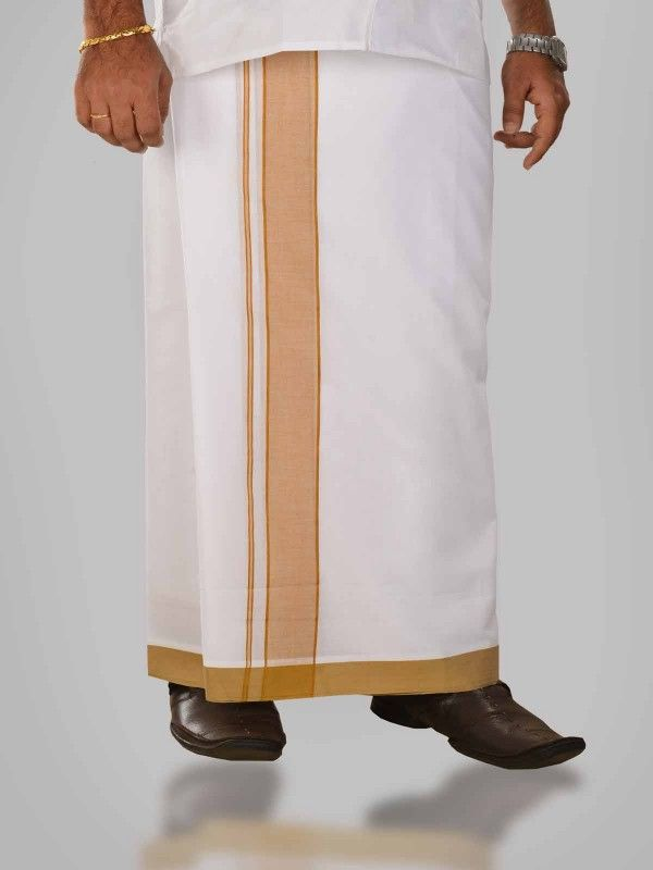 www.ramrajcotton.in/men/dhotis/formal-dhotis/grease - Buy Mens Cotton Grease Dhoti Online in India. Grease Cotton Dhoti with broad satin border and smooth finish.