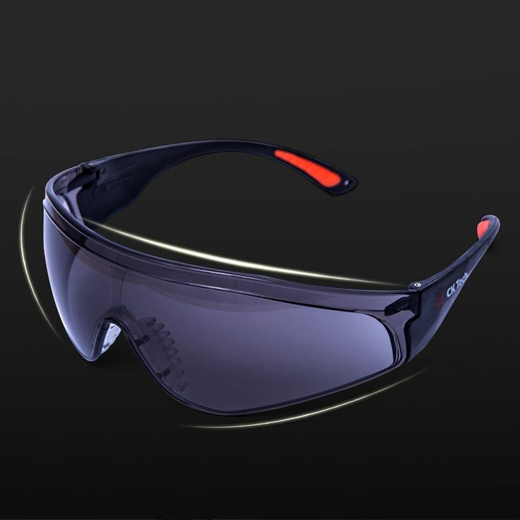 Ck tech brand safety goggles eyes protection clear