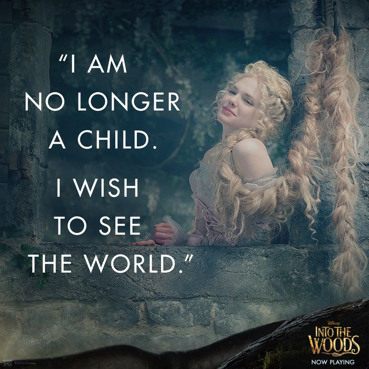 """I am no longer a child. I wish to see the world."" See Mackenzie Mauzy in #IntoTheWoods: di.sn/j03j"