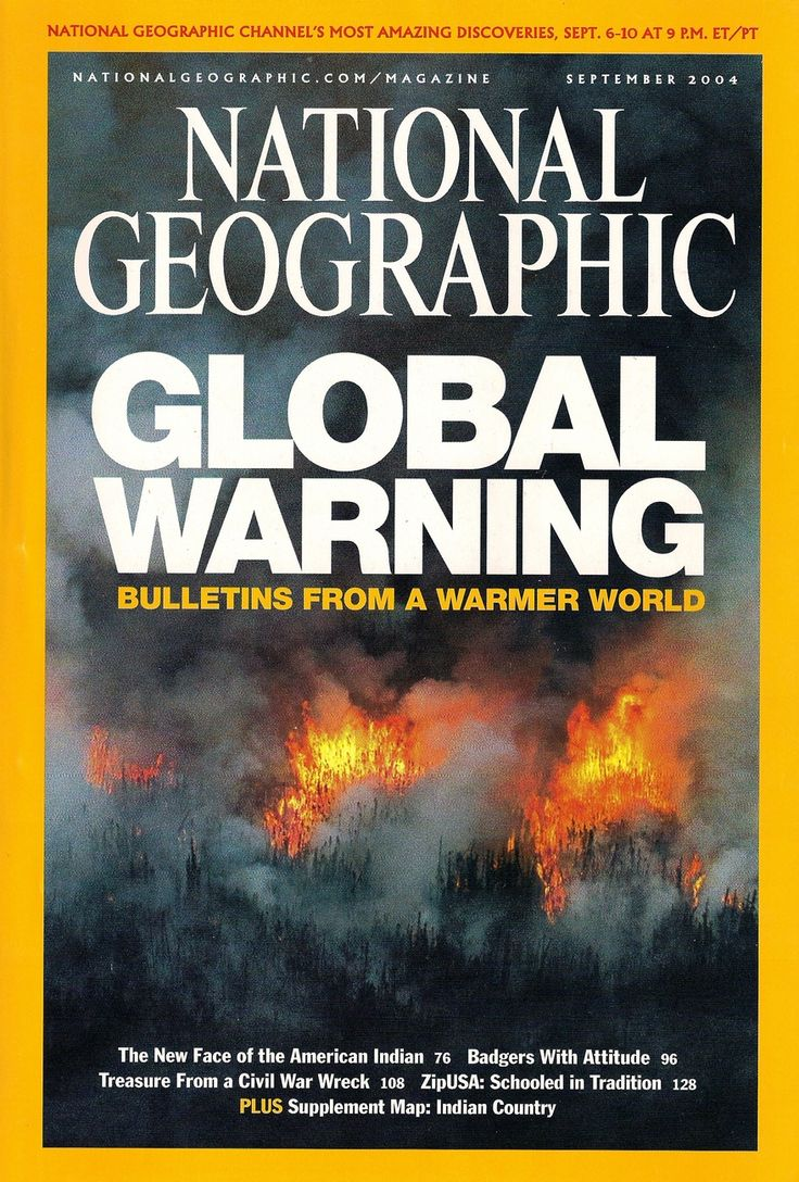 September 2004 - National Geographic | Global warming in ...