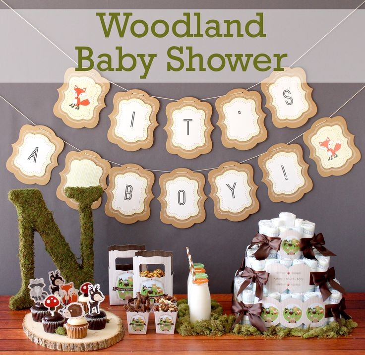 woodland baby shower find unique favors and decorations for your baby