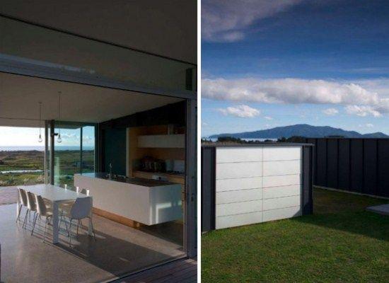 Rumah Pantai dengan Gaya Arsitektur Elegan Minimalis