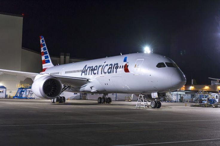 A American Airlines iniciou operações com o Boeing 787 Dreamliner em seus voos diários entre o Aeroporto Internacional de São...