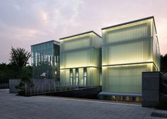 Memorial centre designed to pay tribute to the life of a Korean independence activist.