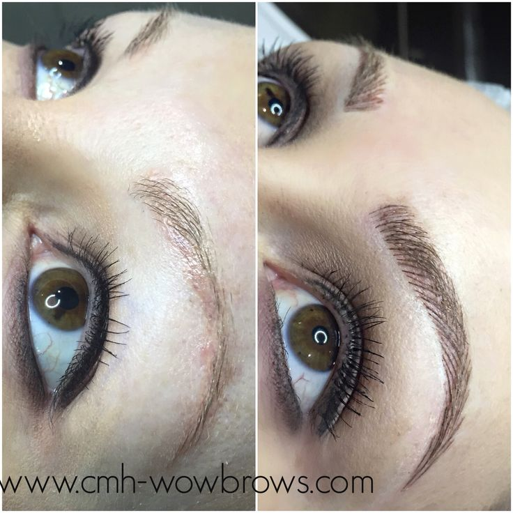 Microblading Microstroke Hairstroke feathertouch feathering eyebrow tattooing