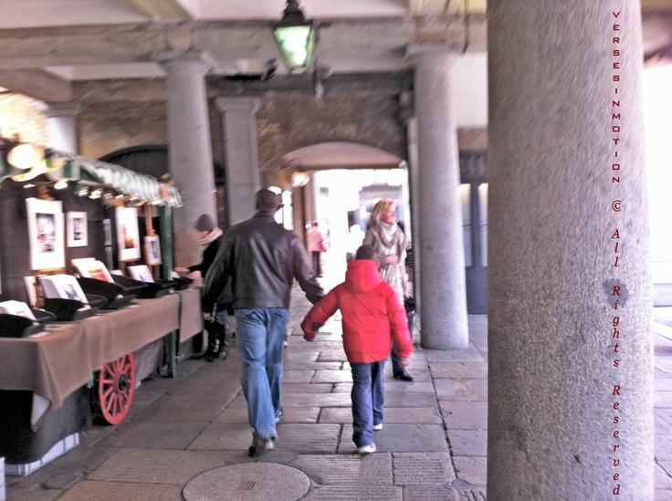 Walking in Covent Garden