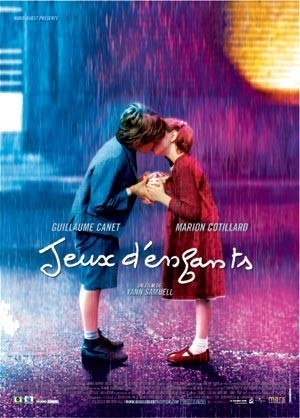 Jeux d'enfants. With Marion Cotillard and Guillaume Canet. Heartbreakingly beautiful.