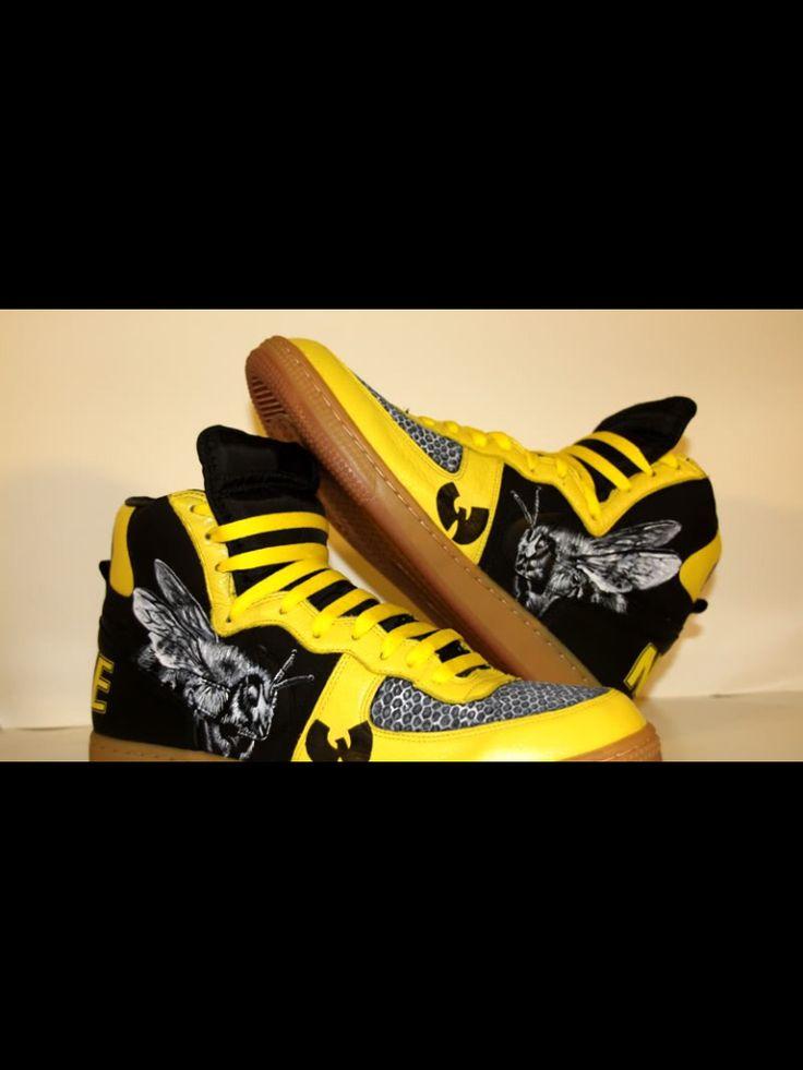 various colors 29e91 51c22 ... Wu Tang Killa Bee Kicks KiCkS ❗ Pinterest Wu tang ...
