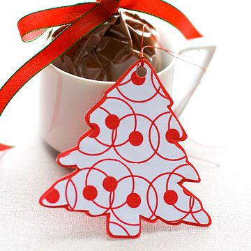 Free Christmas Gift Tags to Print            Print off these festive and free Christmas gift tags to add a splash of color to any of your holiday gifts