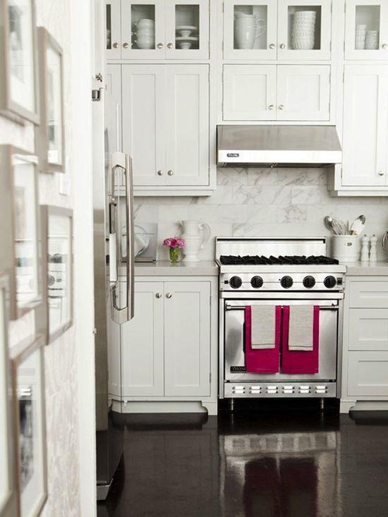 Unique White Glass Front Kitchen Cabinets