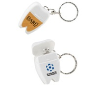 fashion jewellery india Keychain dental floss holders  Dental floss isn  39 t only for good hygiene  it also makes great thread to repair backpacks  amp  gear