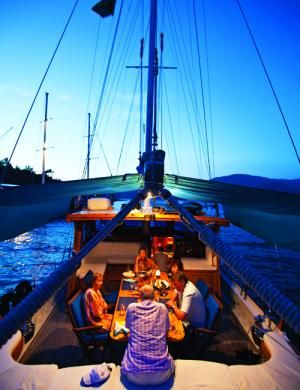 A journey through Greek and Turkish islands in a Southern Cross Turkish gulet lets you see hidden towns, lively tavernas, and ancient ruins all in one trip.