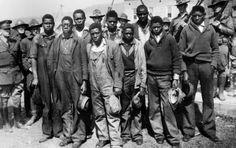 The Scottsboro Boys: Nine young Black men falsely accused of rape