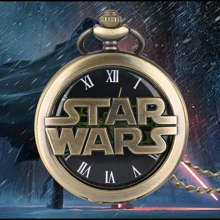 Star Wars Darth Vader Quartz Pocket Watch  #anime #animeart #comic #animeboy #animelover #merchandise #stuff