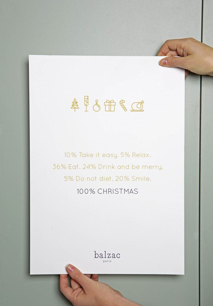 Affiche 100% Christmas