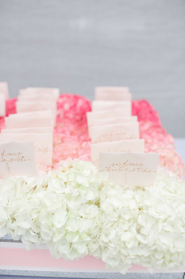 The best images about pink ombre wedding decoration on pinterest