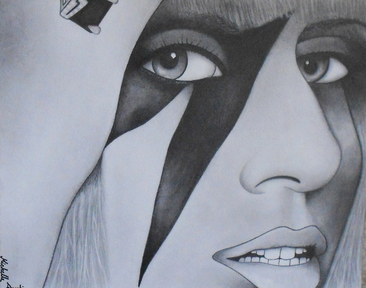 made from pencil shading your pinterest likes pinterest lady lady gaga and drawings