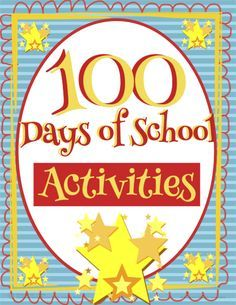 FREE! It's the 100th day of school! Celebrate these many days of learning using this download. Click to see the different activities for FREE!!