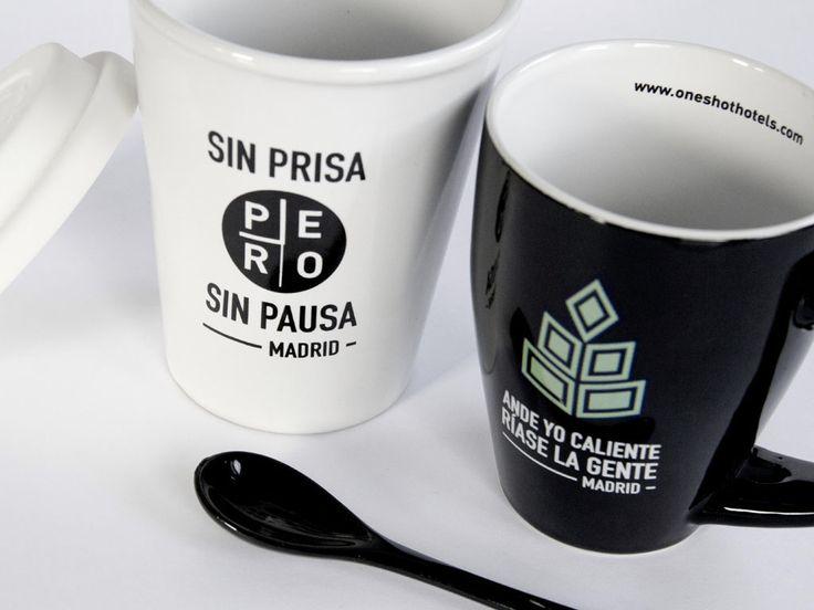 Merchandising for One Shot Hotels, Madrid
