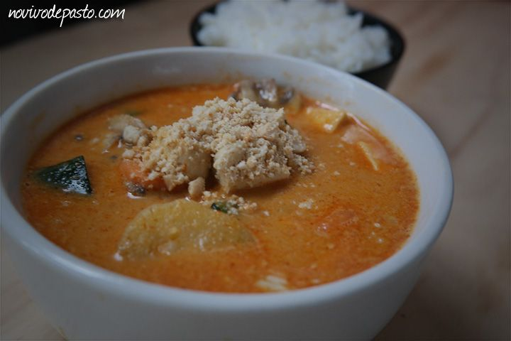 Massaman Curry de Tofu
