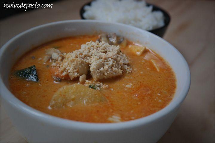 Massaman Curry de Tofu