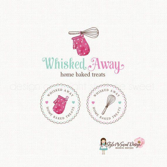 Oven Mitt Logo Whisk Logo Design Bakery Logo By Stylemesweetdesign Bakery Logo Design Logo Design Kitchen Logo Design