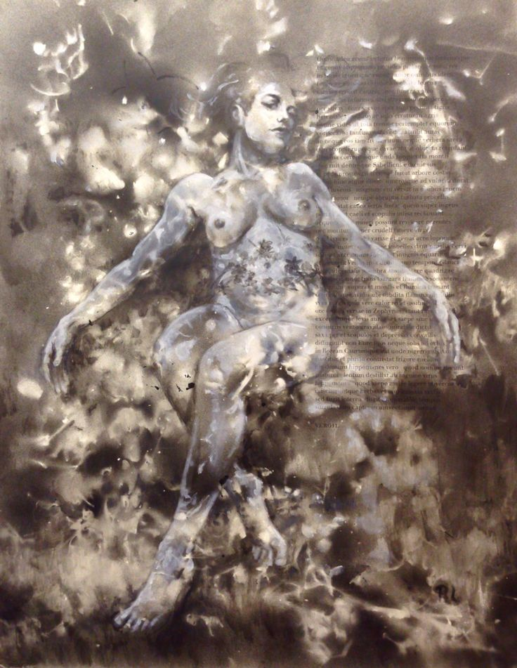 #vergils eftermæle#43x56#alkyd,acrylic#paper#rithva.dk#