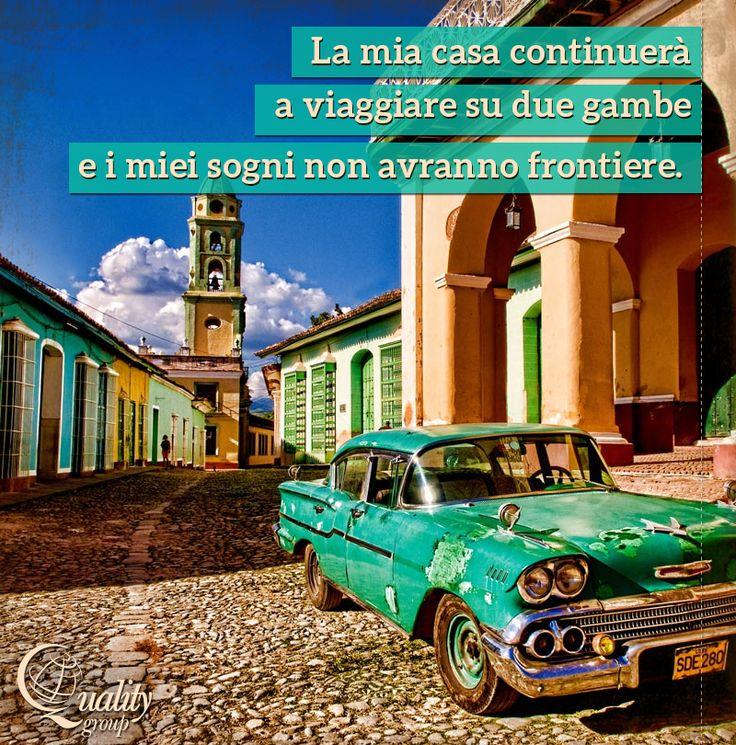 Le parole di Che Guevara per augurarvi una #buonasettimana dall'isola di #Cuba, destinazione che conserva un fascino e un'atmosfera nostalgica fuori dal tempo.