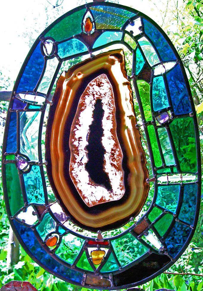 306 Best Images About Stained Glass Agates And Geodes On