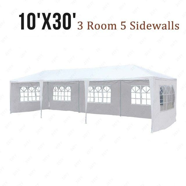 Outdoor Marquee Tent Fold Up Canopy Party Patio Heavy Duty Gazebo Pavilion