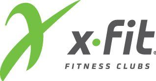 Логотип фитнес клубов X-Fit в Нижнем Новгороде