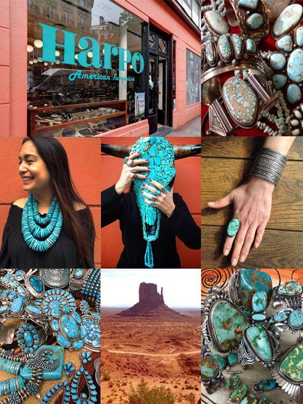 Harpo Bijoux © #bijouxamérindiens #bijouxturquoise #bijouxargent