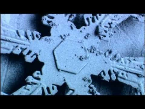 Snowflakes, how they are made, amazing computer graphics and electron microscope pictures. Nature does make straight lines, squares, hexagons etc. This is a ...