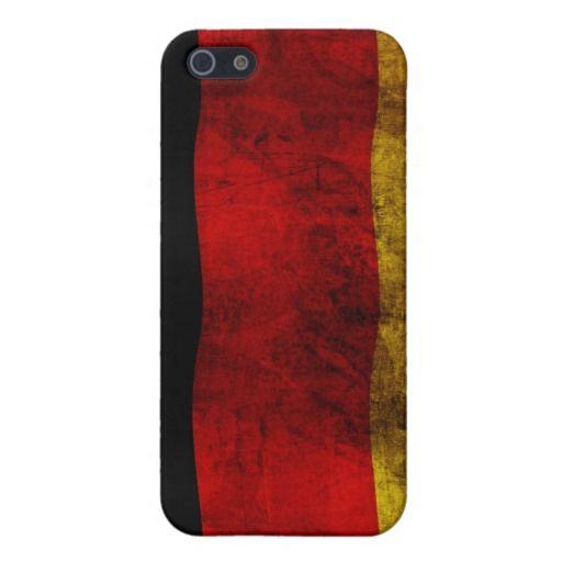 #Deutsche #Flagge - #Vintag #iPhone 5 #Etuis designed by #pASob at #zazzle.de 35,95 € pro iPhone #Hülle