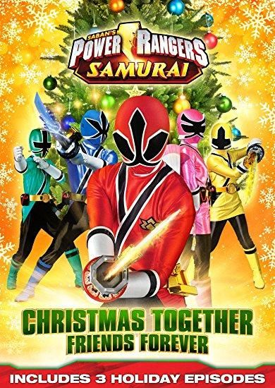 n/a - Power Rangers Samurai: Christmas Together, Friends Forever