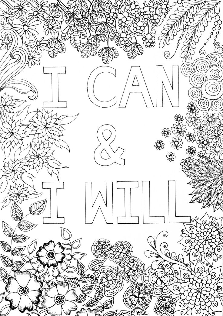 Mindful Affirmation Colouring Book (With images