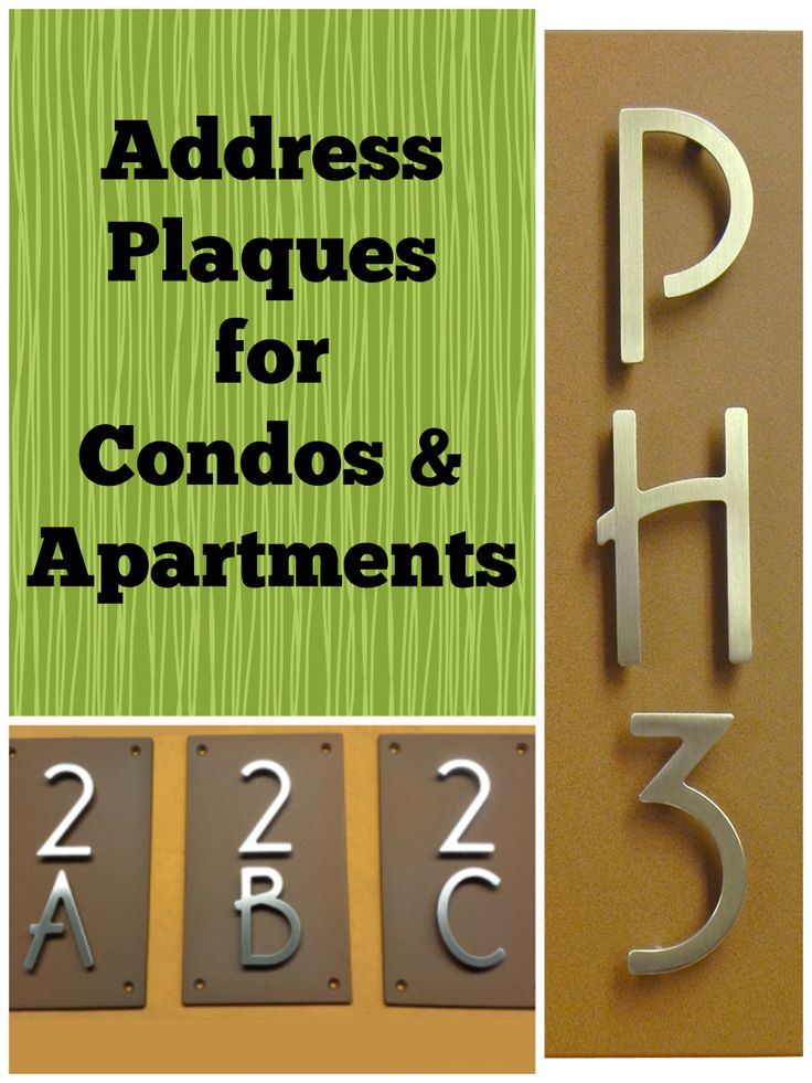 17 best images about modern address plaques on pinterest address plaque stainless steel and. Black Bedroom Furniture Sets. Home Design Ideas