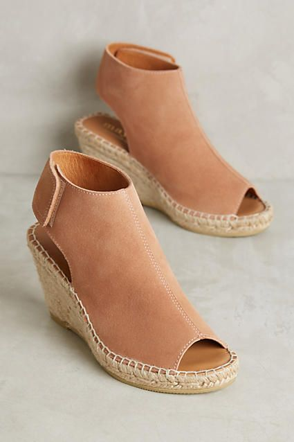 Maypol Suede Espadrille Wedges | anthropologie
