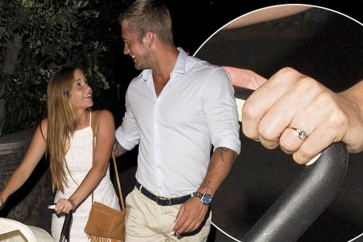 Jacqueline Jossa flashes her engagement ring as Dan Osborne confirms romantic Greek proposal - 3am & Mirror Online