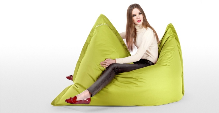 The Piggy Bean Bag in Lime | made.com Dog beds for Megahounds??