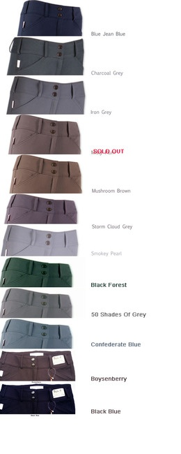 Tailored Sportsman  Front Zip Trophy Hunter Breeches - love the 50 shades of grey (funny name, awesome color)