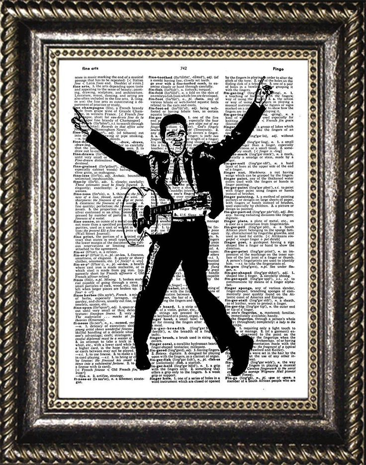 Elvis Presley, Elvis Presley Art, Elvis Presley Dictionary Print, Elvis Art, Elvis Presley Poster, Elvis Presley Gift, Elvis Presley Decor