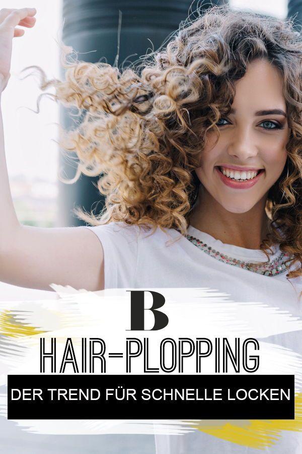 Hair Plopping Der Trend Fur Schnelle Locken Ganz Ohne Hitze Schnelle Locken Locken Machen Frisuren Mit Locken Mittellang