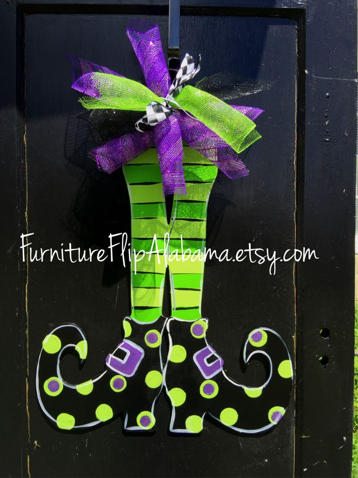 Halloween Decorations Witches Legs