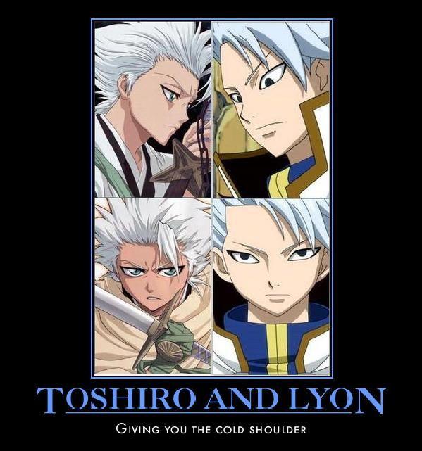 Tags: Anime, BLEACH, Hitsugaya Toushirou, FAIRY TAIL, Lyon