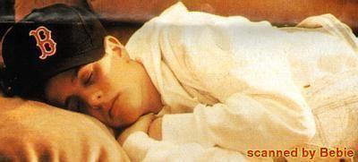 Aww look at sweet little Joey Joe resting peacefully  #SweetDreams @joeymcintyre  #MacMonday