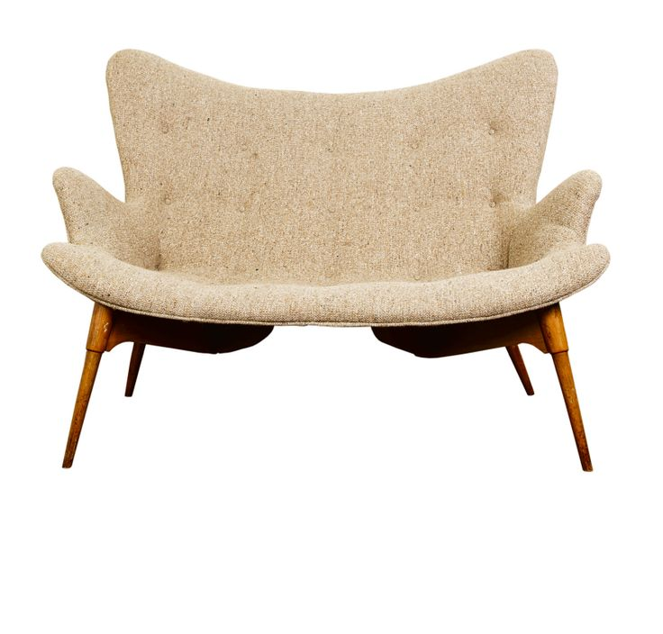 Grant Featherston; #RS161 Contour Settee, 1951.