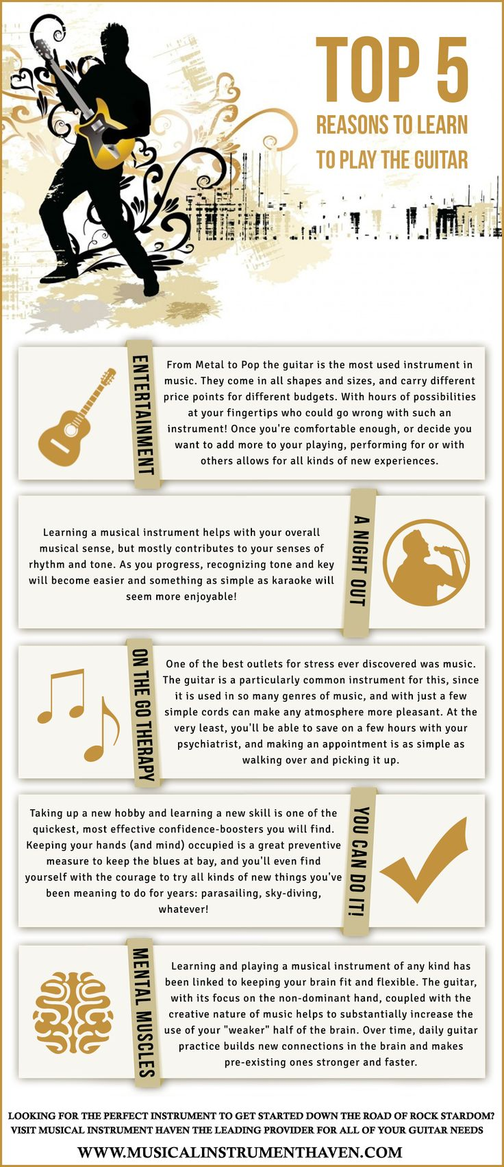 Why you are never too old to learn how to play the guitar ...